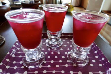 赤紫蘇ジュース&梅干し作り